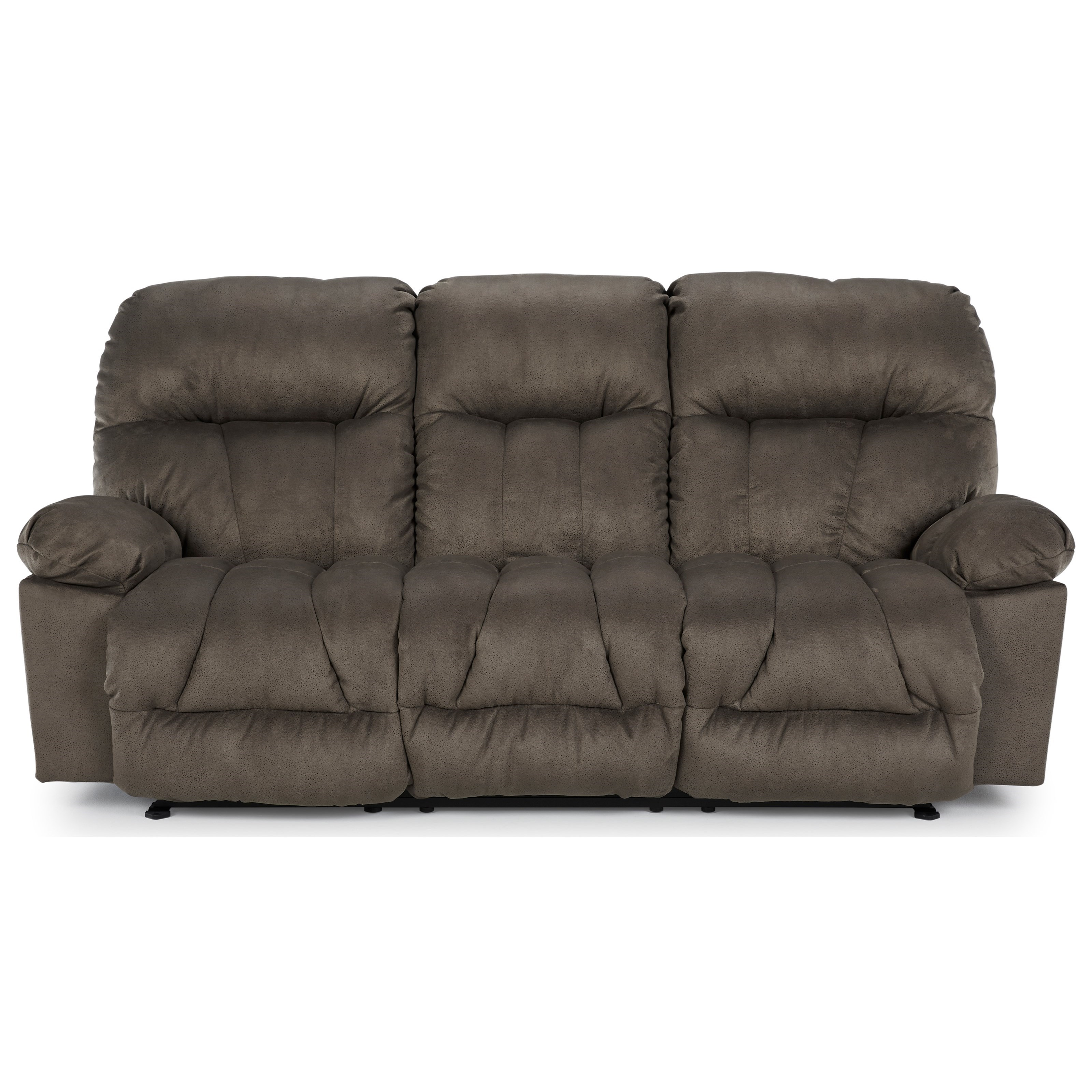 Retreat Reclining Space Saver Sofa by Best Home Furnishings at Best Home Furnishings