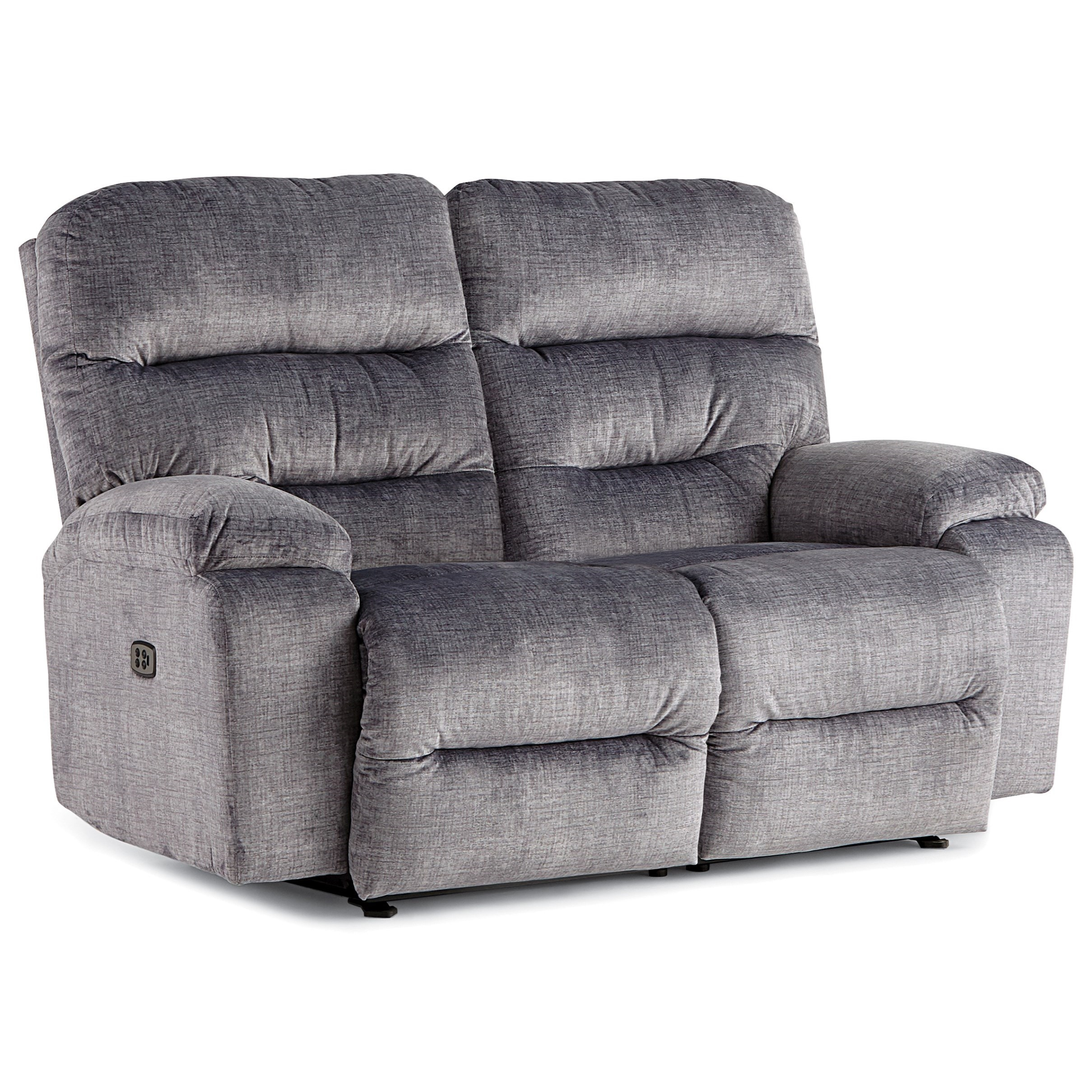 Ryson Power Headrest Reclining Space Saver Love by Best Home Furnishings at Alison Craig Home Furnishings
