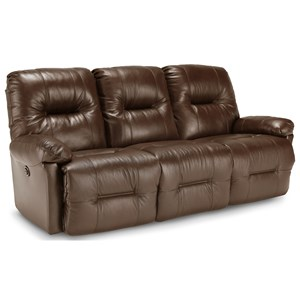 Casual Motion Sofa with Pillow Arms