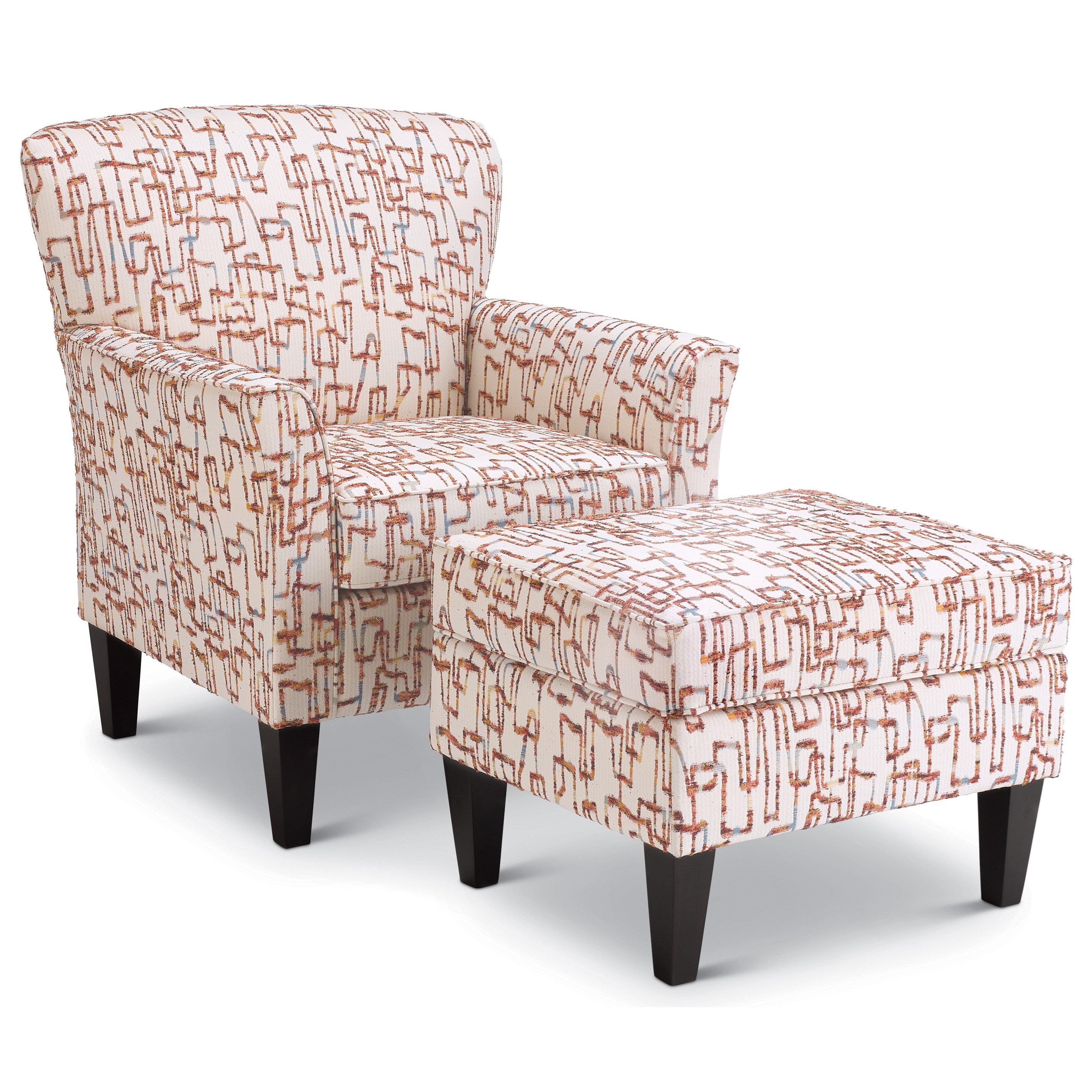 Saydie Chair & Ottoman Set by Best Home Furnishings at Saugerties Furniture Mart