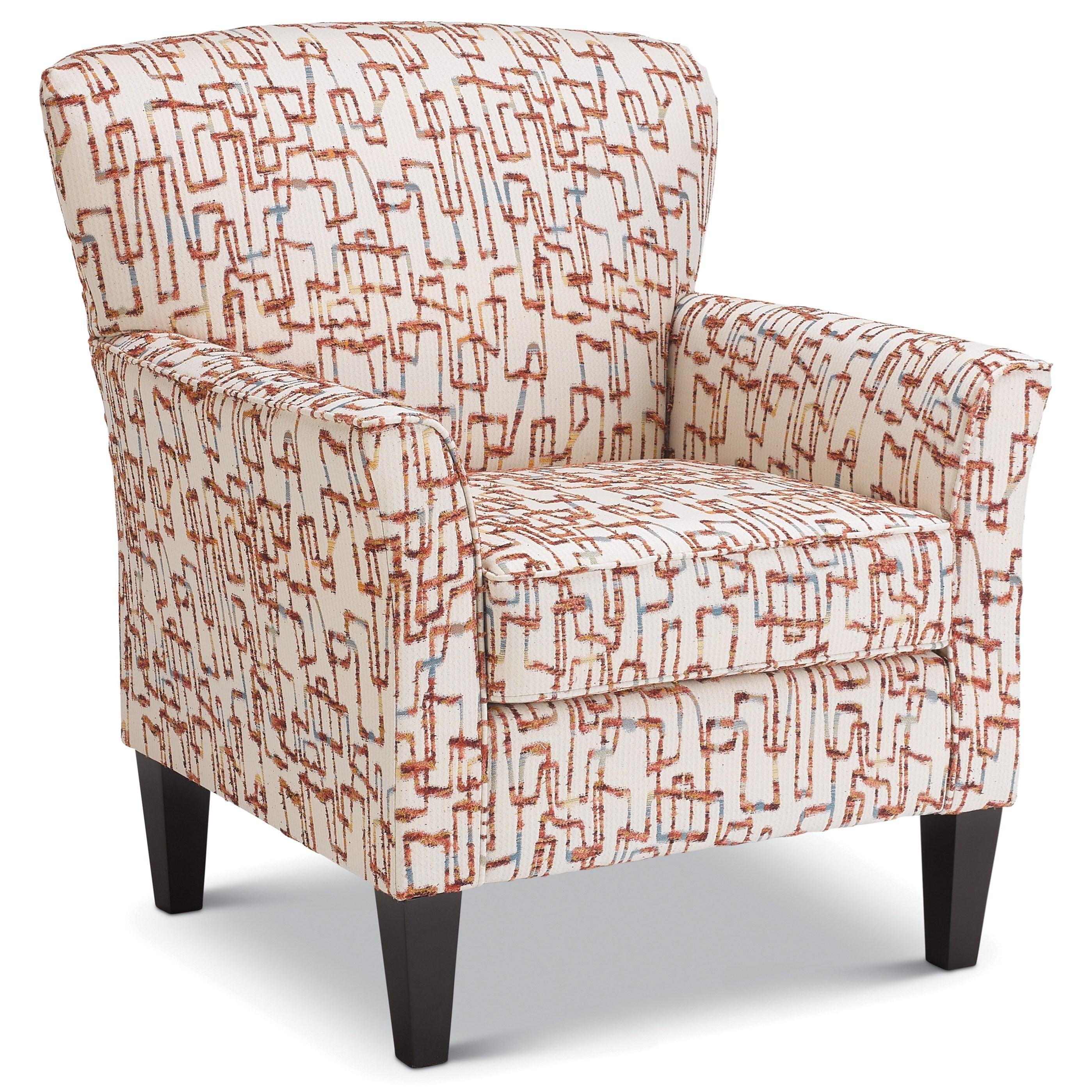 Saydie Club Chair by Best Home Furnishings at Walker's Furniture