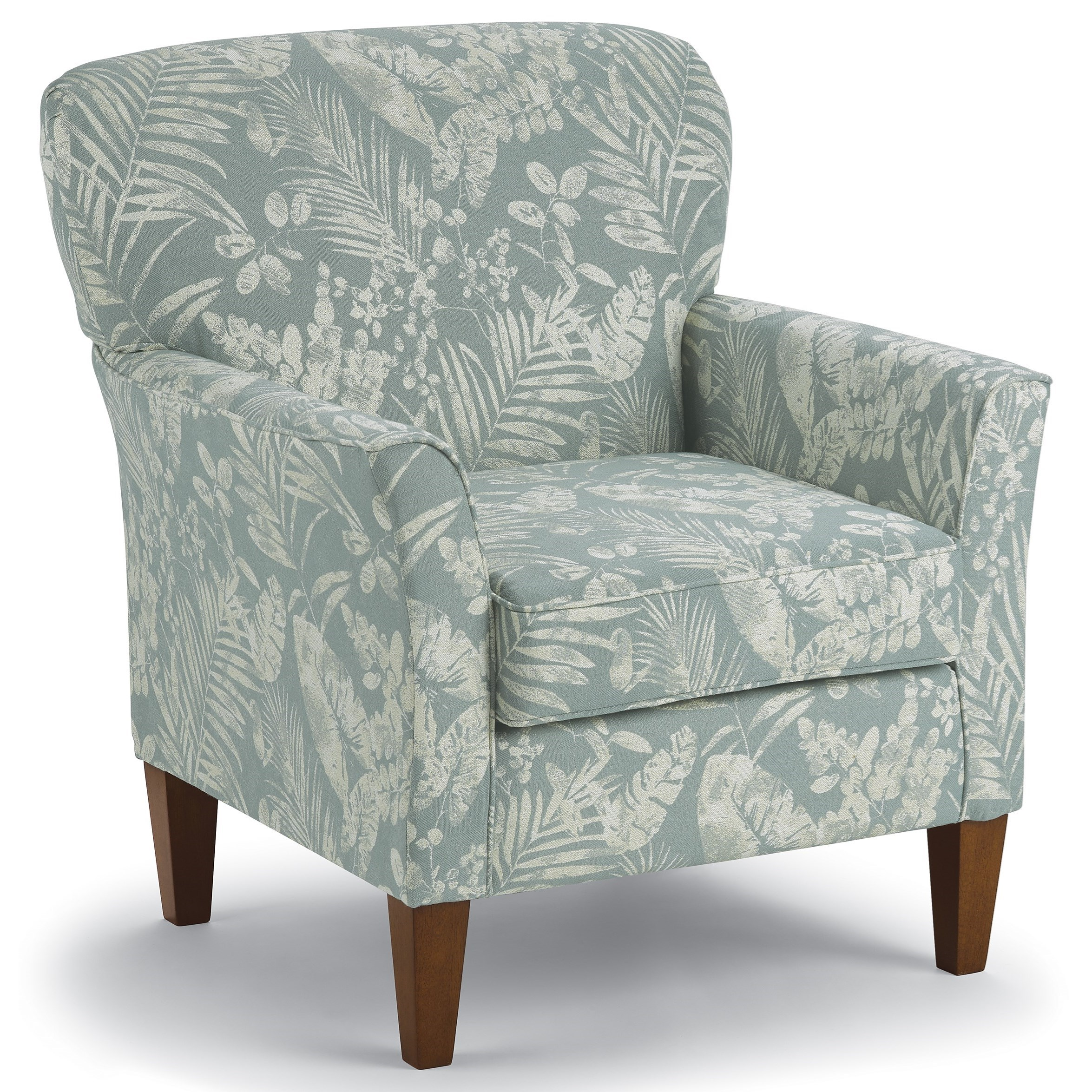 Saydie Club Chair by Best Home Furnishings at Saugerties Furniture Mart