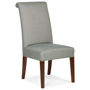 Transitional Upholstered Dining Chair