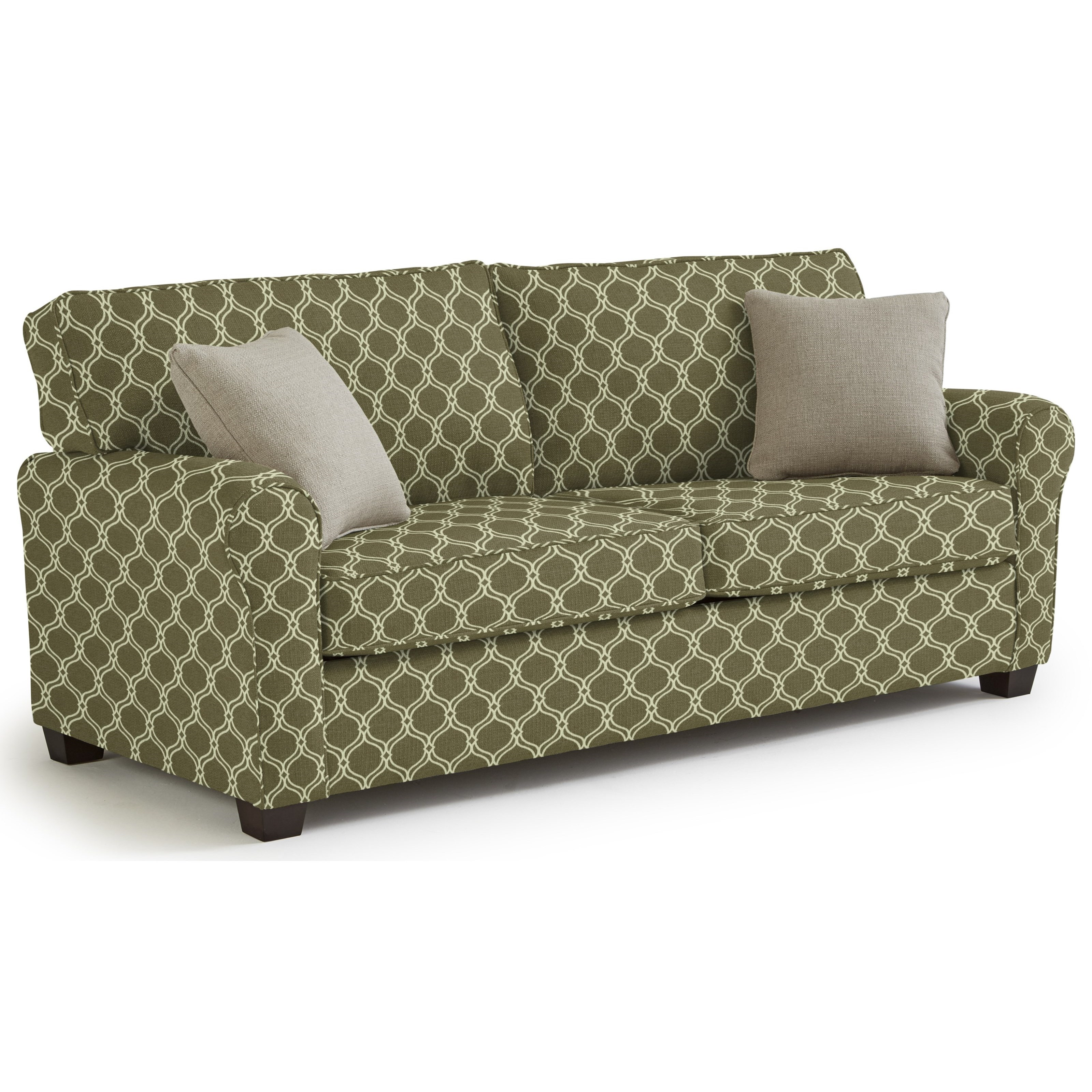 Shannon Queen Sofa Sleeper by Best Home Furnishings at Lucas Furniture & Mattress