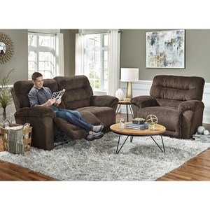 Reclining Living Room Group w/ Power Headrests