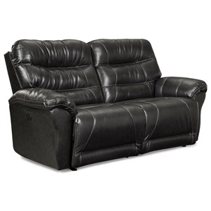 Power Space Saver Reclining Sofa with Power Tilt Headrest and USB Ports