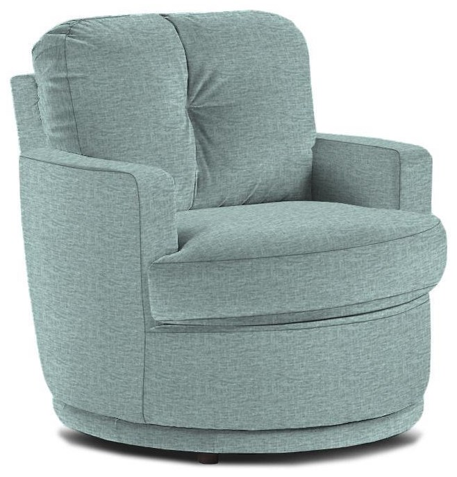 Mona Swivel Chair by Best Home Furnishings at Crowley Furniture & Mattress