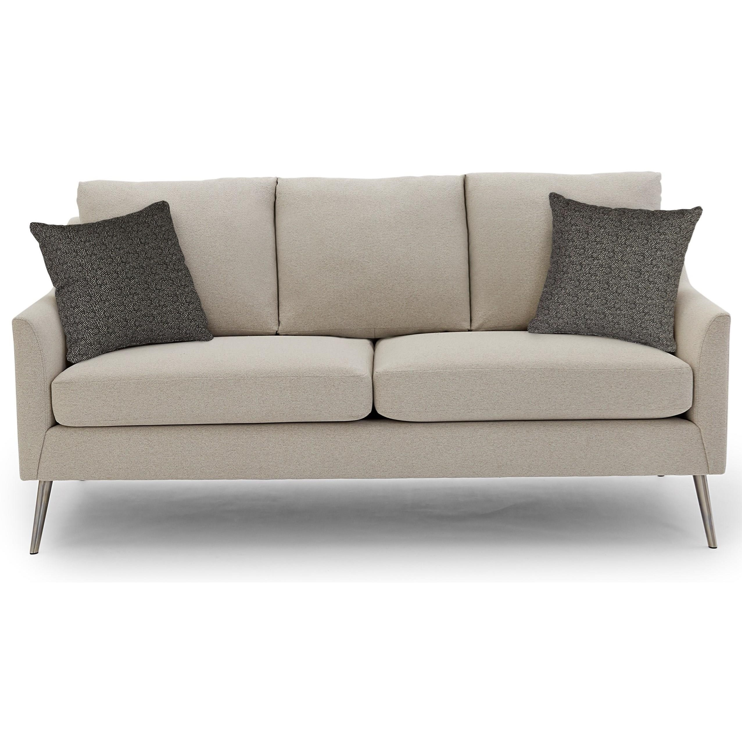 Smitten Stationary Sofa by Best Home Furnishings at EFO Furniture Outlet