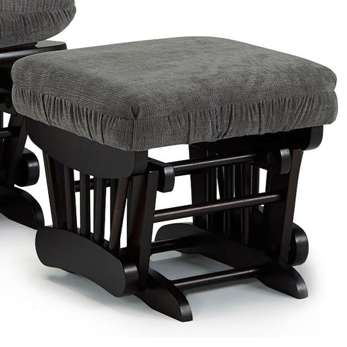 Sona Glider Ottoman by Best Home Furnishings at Lapeer Furniture & Mattress Center