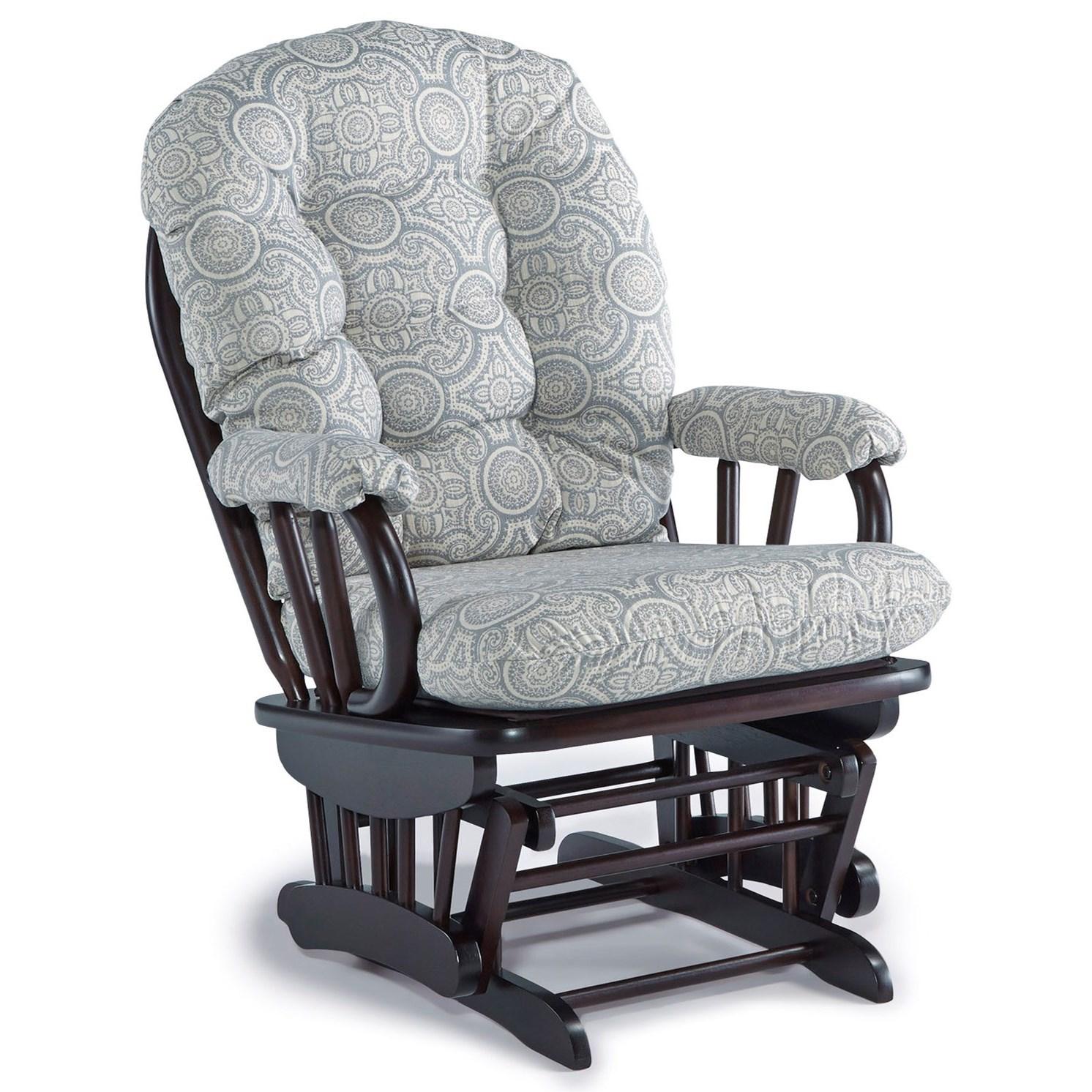 Sona Glider Rocker by Best Home Furnishings at Van Hill Furniture