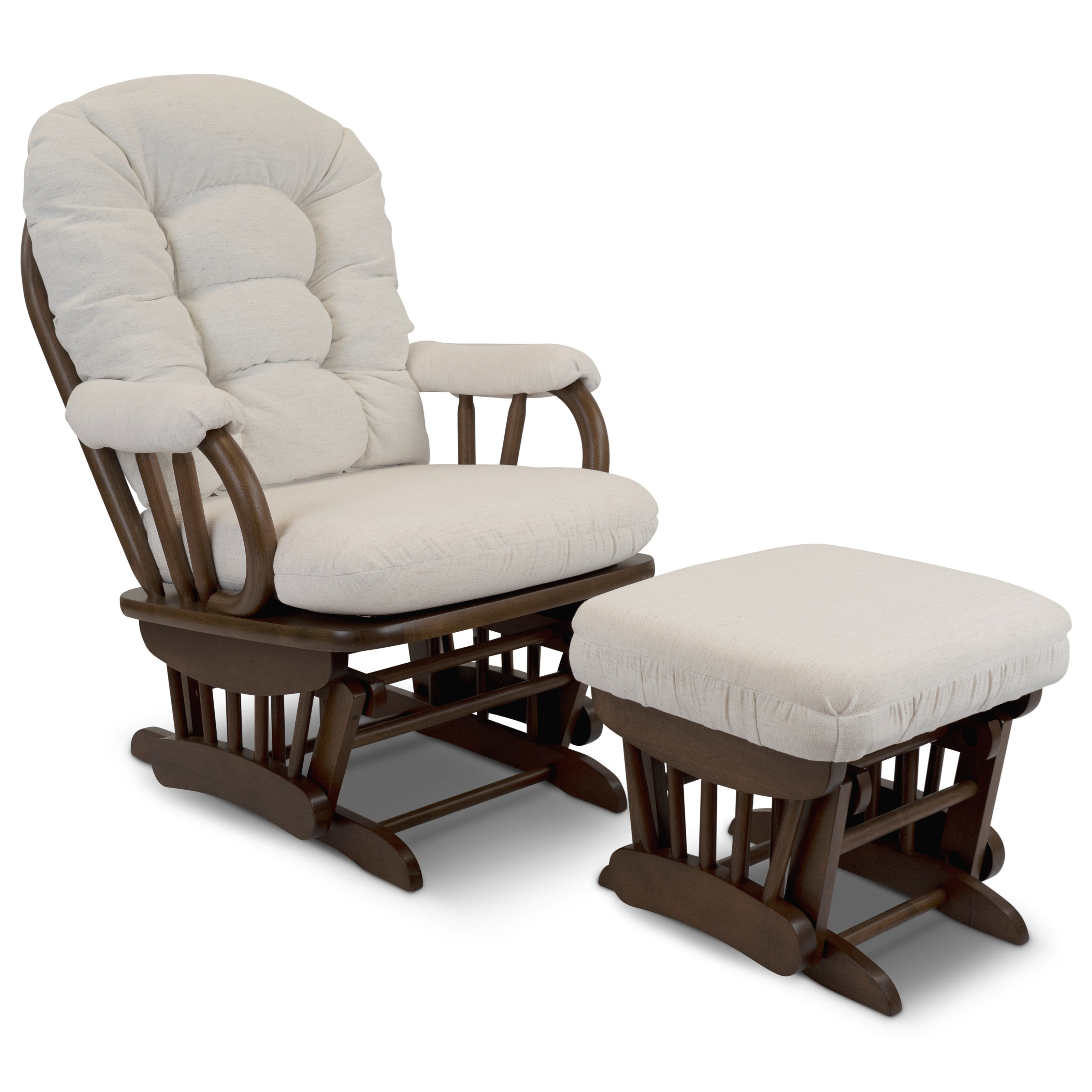 Sona Glider Chair & Ottoman Set by Best Home Furnishings at Baer's Furniture