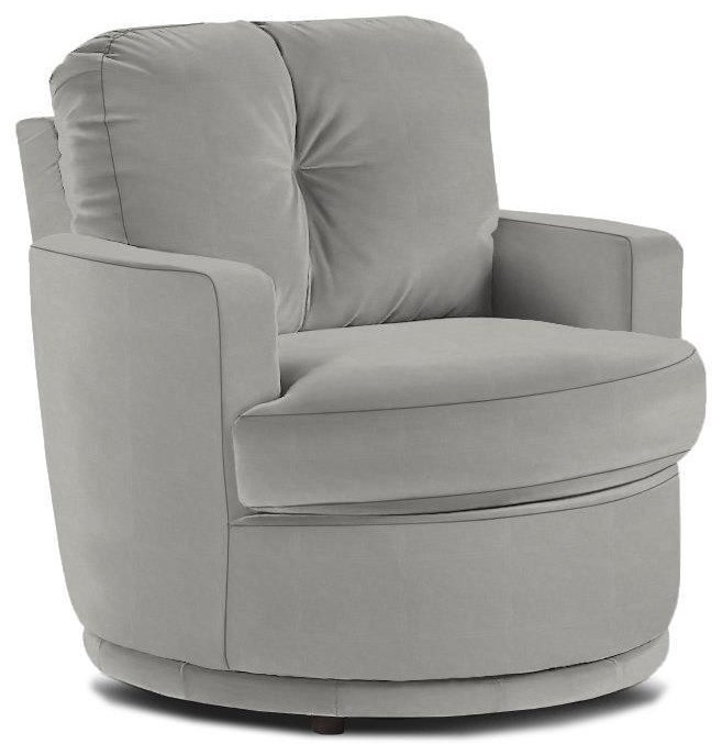 Swivel Barrel Chair by Best Home Furnishings at Walker's Furniture