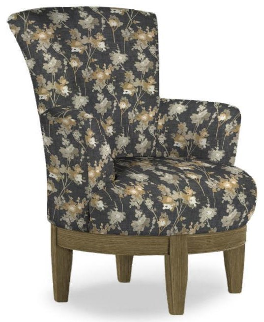 Swivel Barrel Swivel Chair by Best Home Furnishings at Walker's Furniture