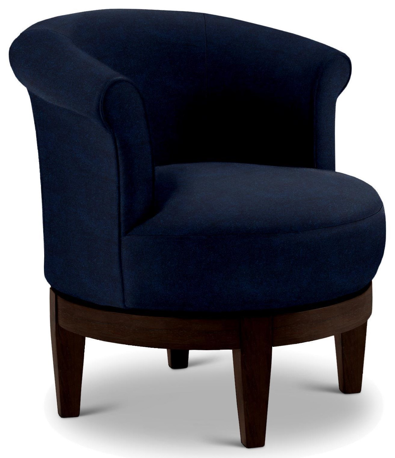 Swivel Barrel SAPPHIRE SWIVEL CHAIR by Best Home Furnishings at Walker's Furniture