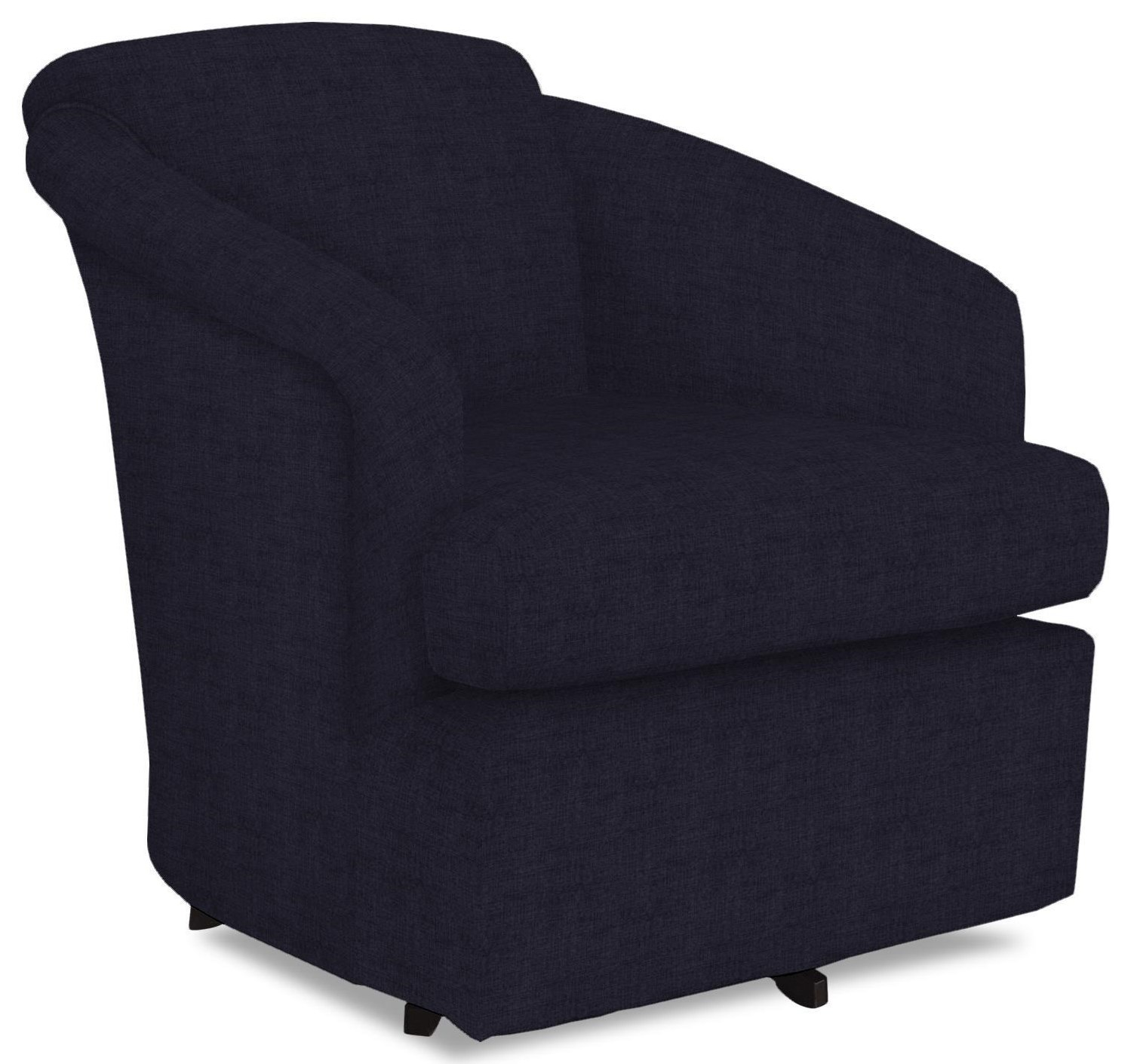 Chairs - Swivel Barrel Cass Swivel Barrel Chair by Best Home Furnishings at Wilcox Furniture