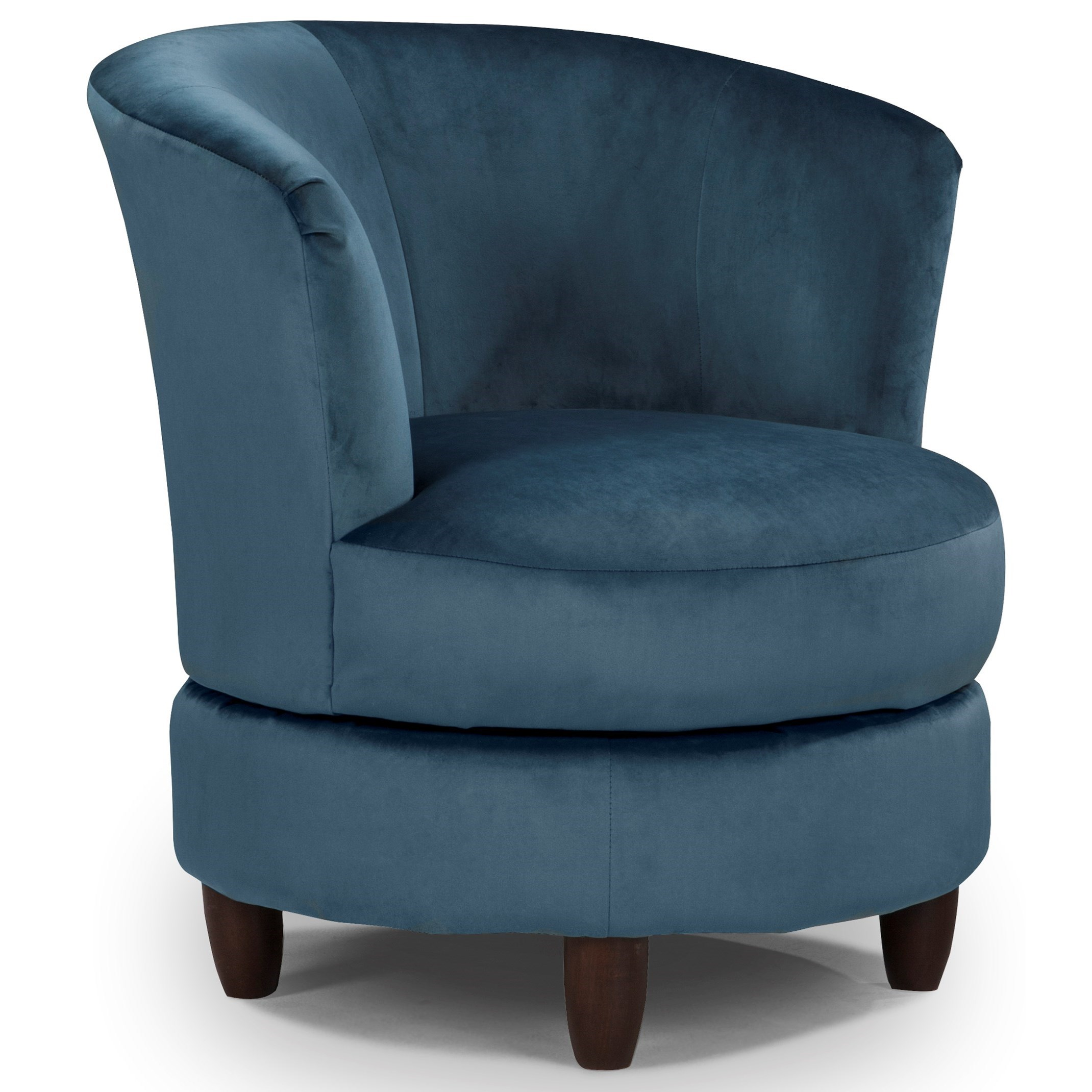 Chairs - Swivel Barrel Palmona Swivel Chair by Best Home Furnishings at Lapeer Furniture & Mattress Center