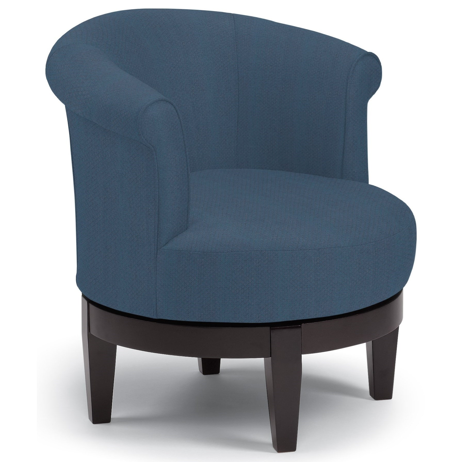 Chairs - Swivel Barrel Attica Swivel Chair by Best Home Furnishings at Steger's Furniture