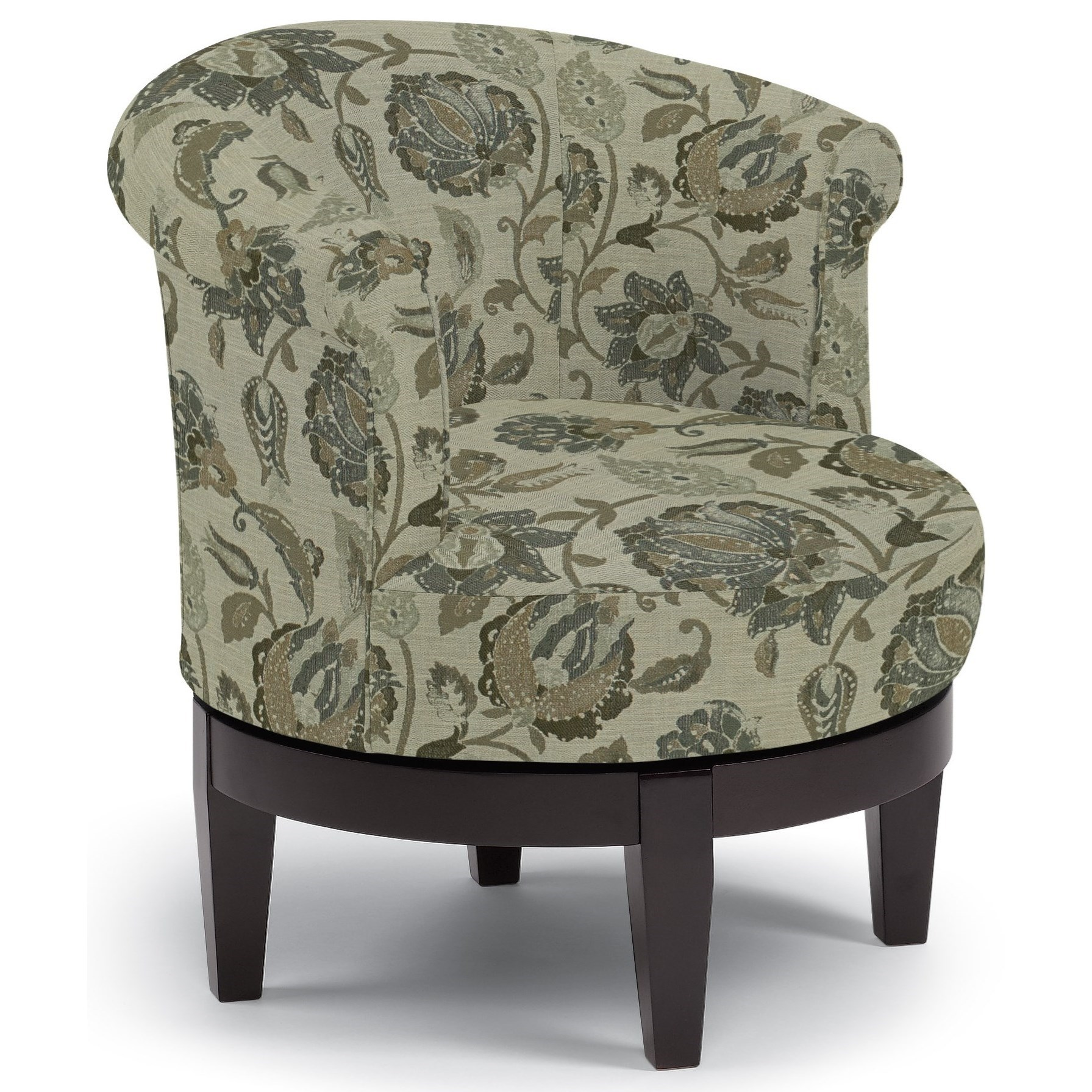 Chairs - Swivel Barrel Attica Swivel Chair by Best Home Furnishings at Rife's Home Furniture