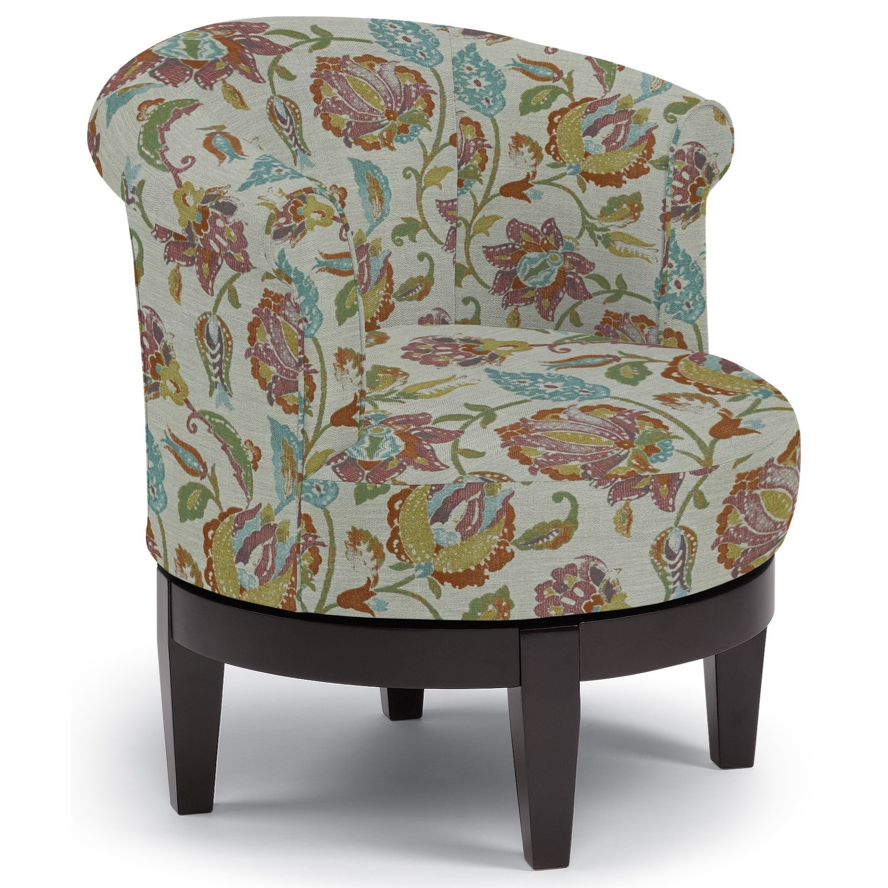 Chairs - Swivel Barrel Attica Swivel Chair by Best Home Furnishings at Fashion Furniture