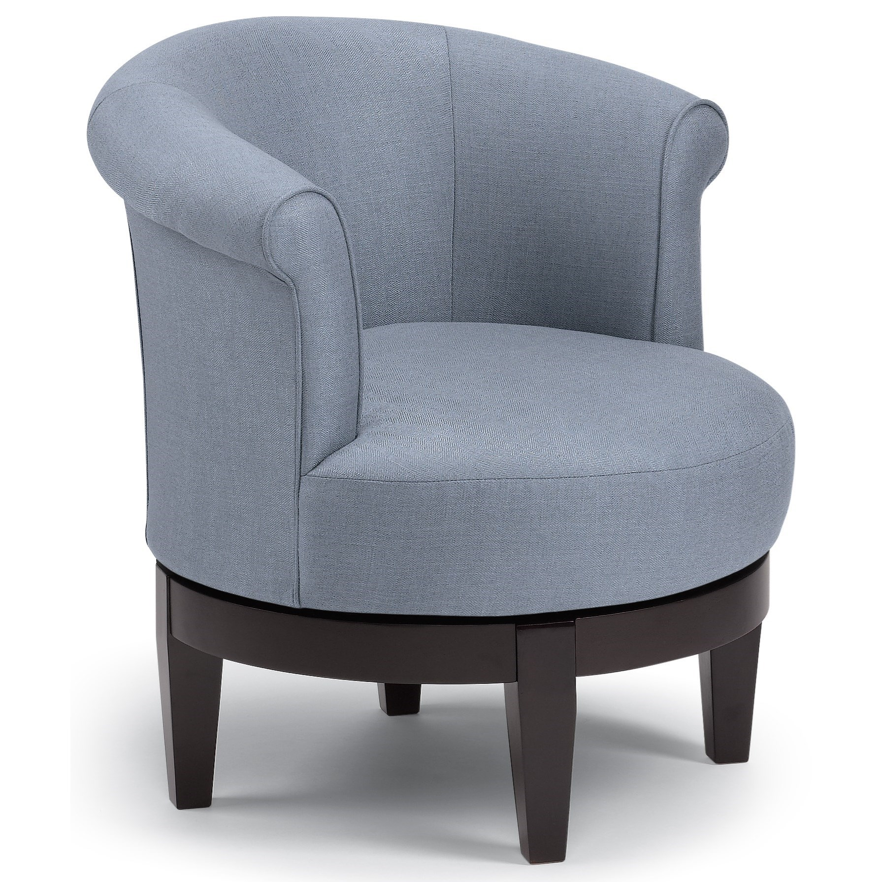 Chairs - Swivel Barrel Attica Swivel Chair by Best Home Furnishings at Wilson's Furniture