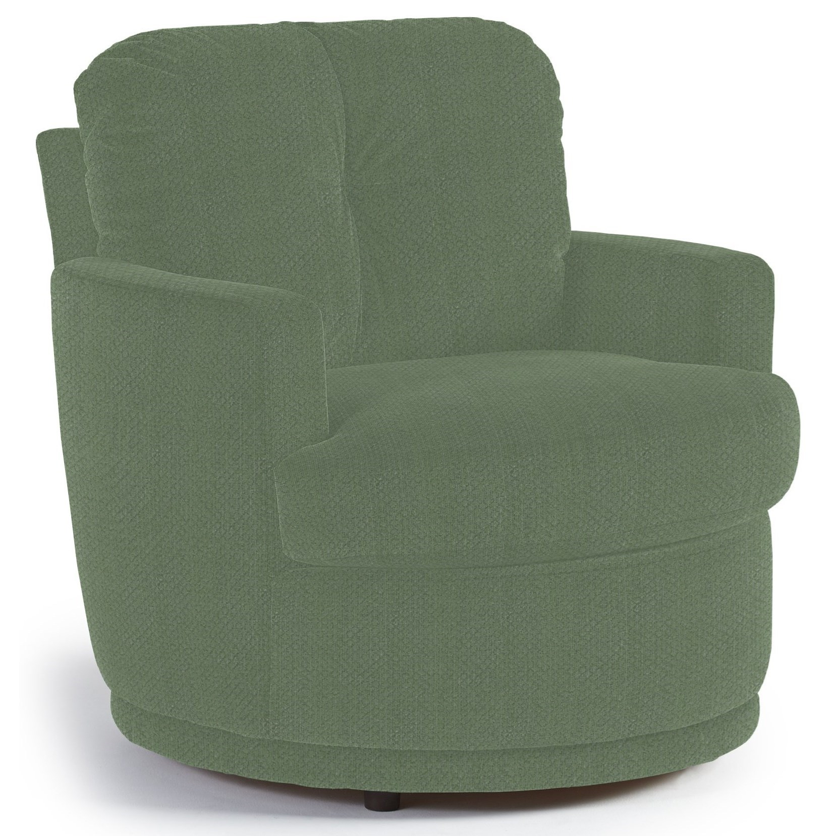 Chairs - Swivel Barrel Swivel Chair by Best Home Furnishings at Rooms and Rest