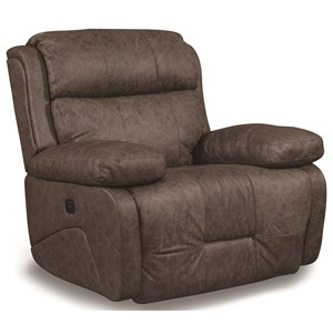 Power Rocker Recliner with with Power Tilt Headrest and USB Charging Port