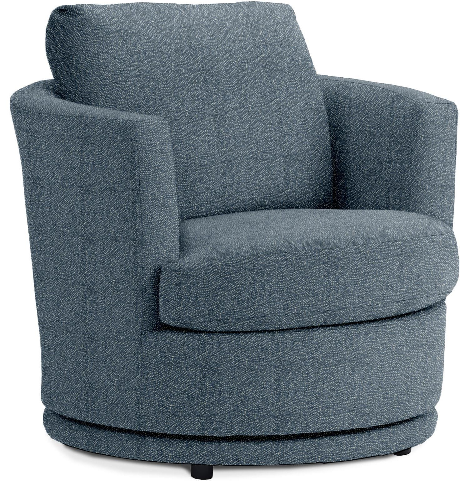 Kyle Swivel Barrel Chair by Best Home Furnishings at Crowley Furniture & Mattress