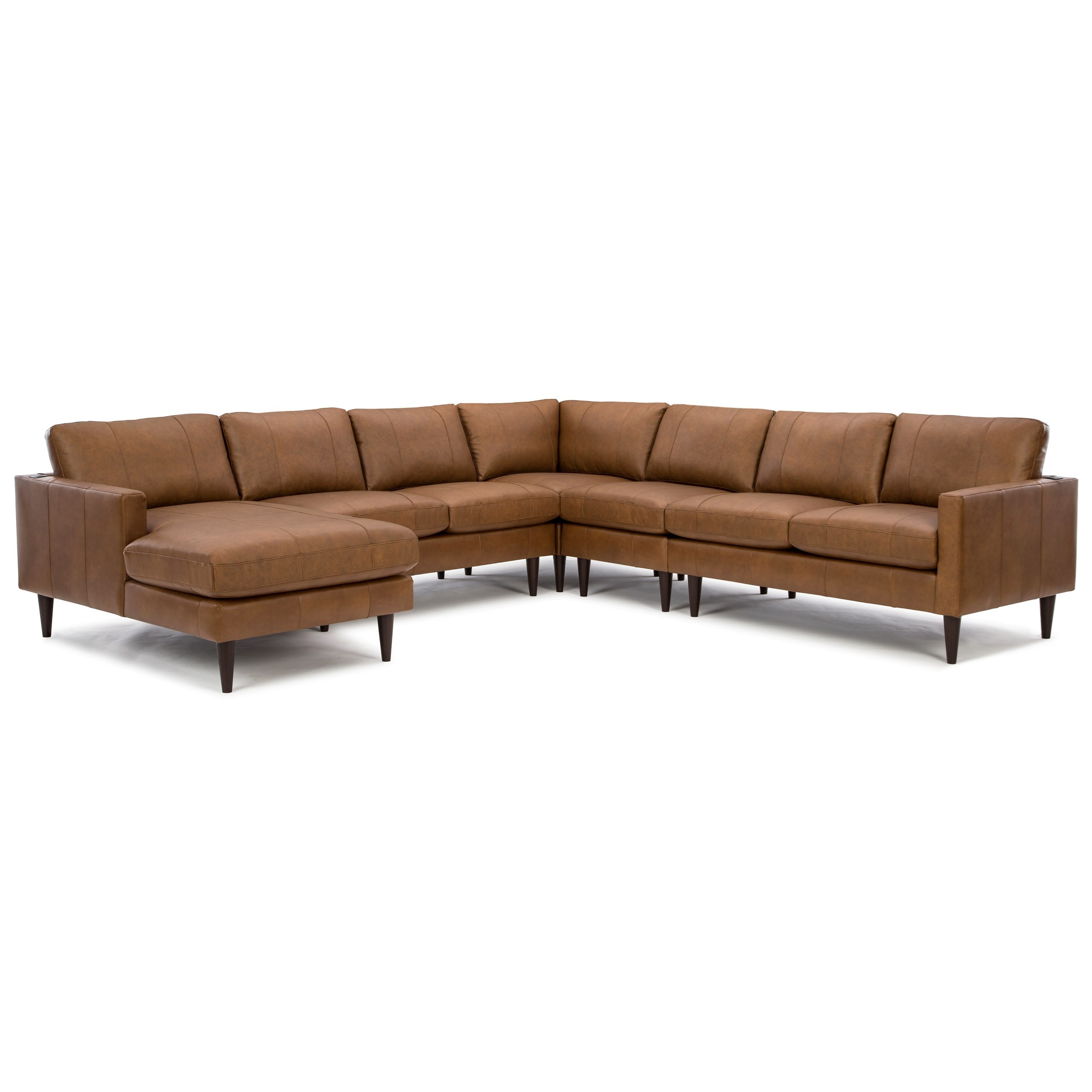 Trafton 6-Seat Sectional Sofa w/ LAF Chaise by Best Home Furnishings at Best Home Furnishings