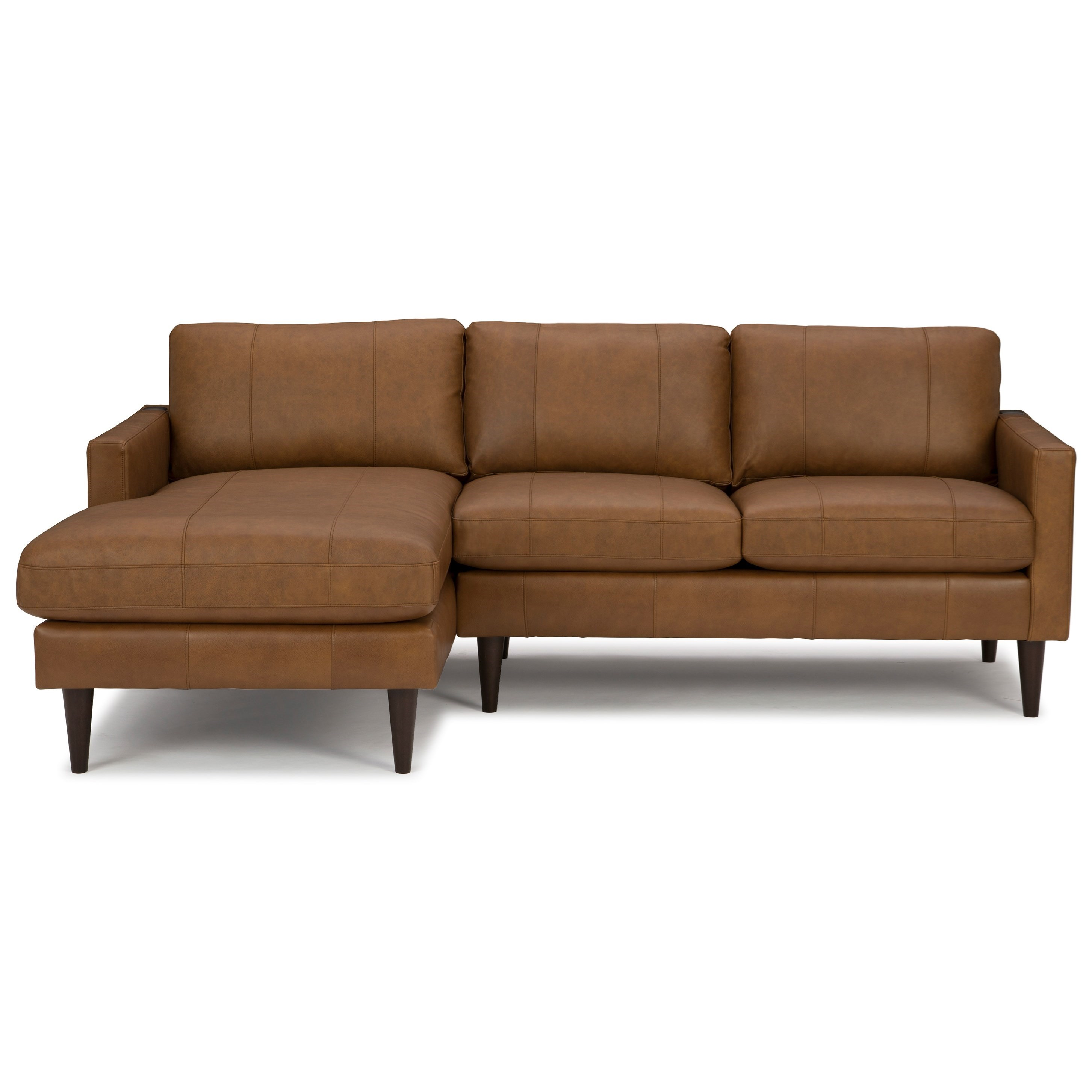 Trafton Chaise Sofa with LAF Chaise by Best Home Furnishings at Best Home Furnishings