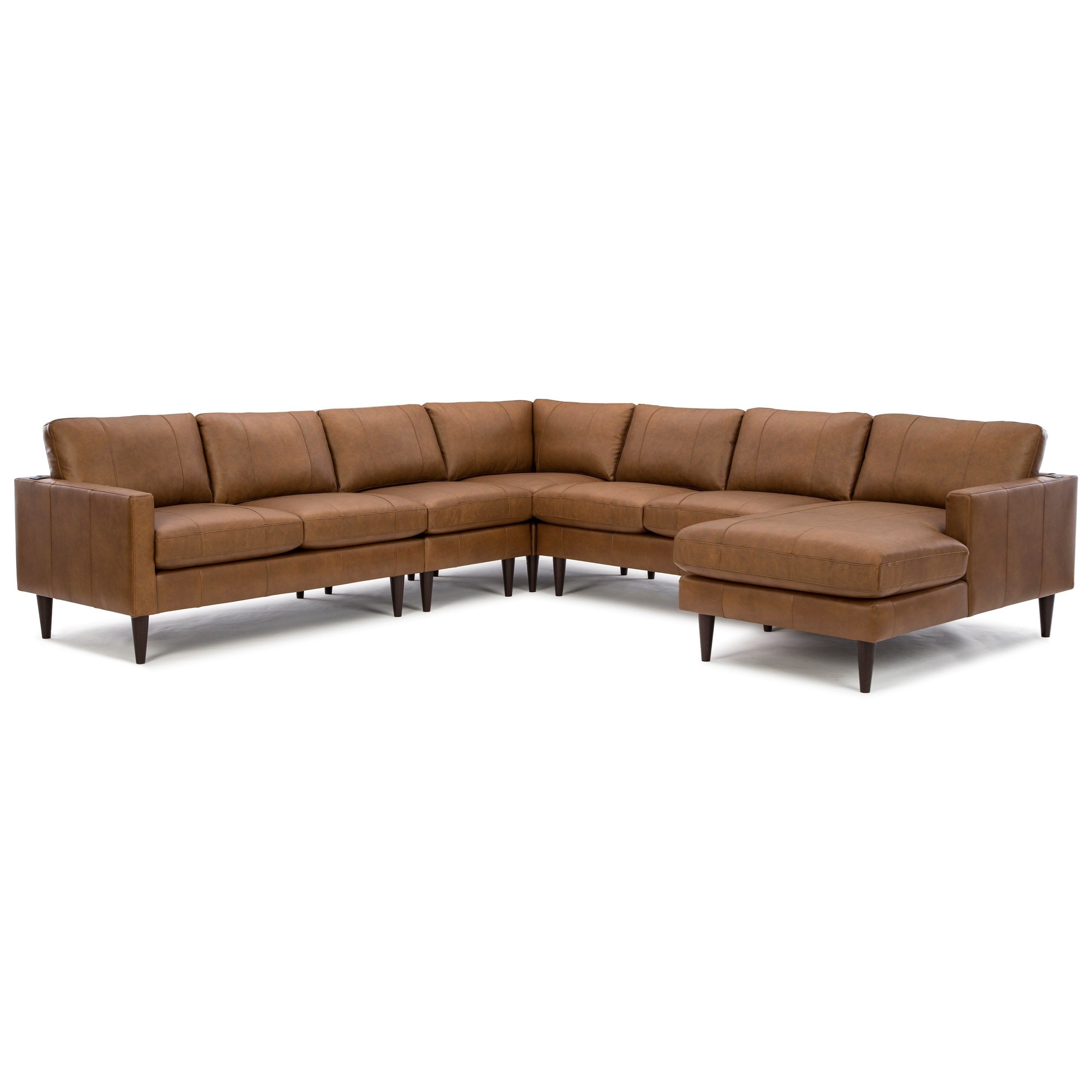 Trafton 6-Seat Sectional Sofa w/ RAF Chaise by Best Home Furnishings at Baer's Furniture