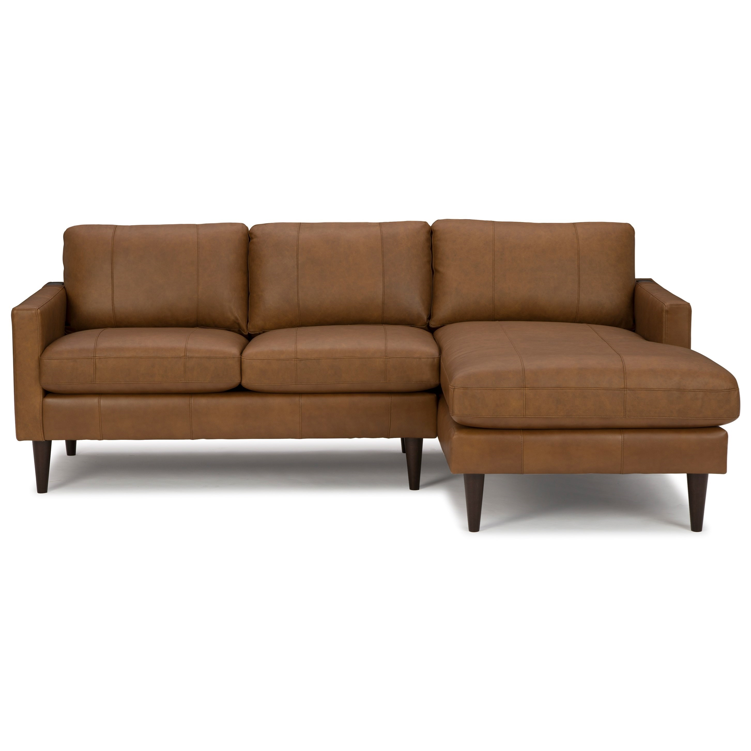 Trafton Chaise Sofa with RAF Chaise by Best Home Furnishings at Baer's Furniture