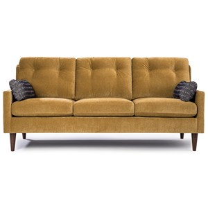 Contemporary Small Scale Sofa