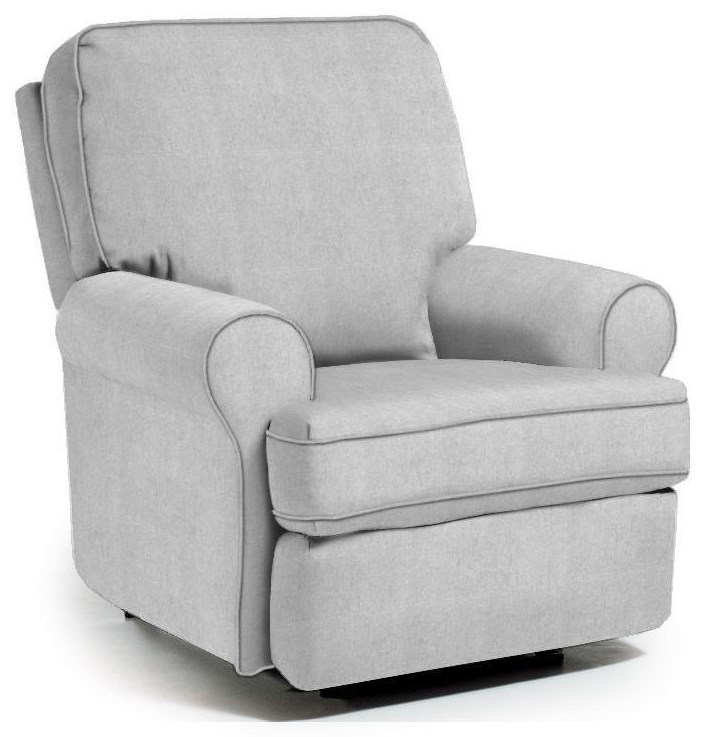Audrey Swivel Gliding Recliner by Best Home Furnishings at Crowley Furniture & Mattress
