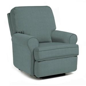 Swivel Glider Recliner w/ Opti-Clean Fabric