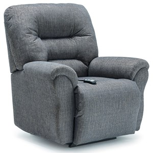 Casual Swivel Rocker Recliner