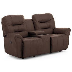 Power Space Saver Console Loveseat Chaise