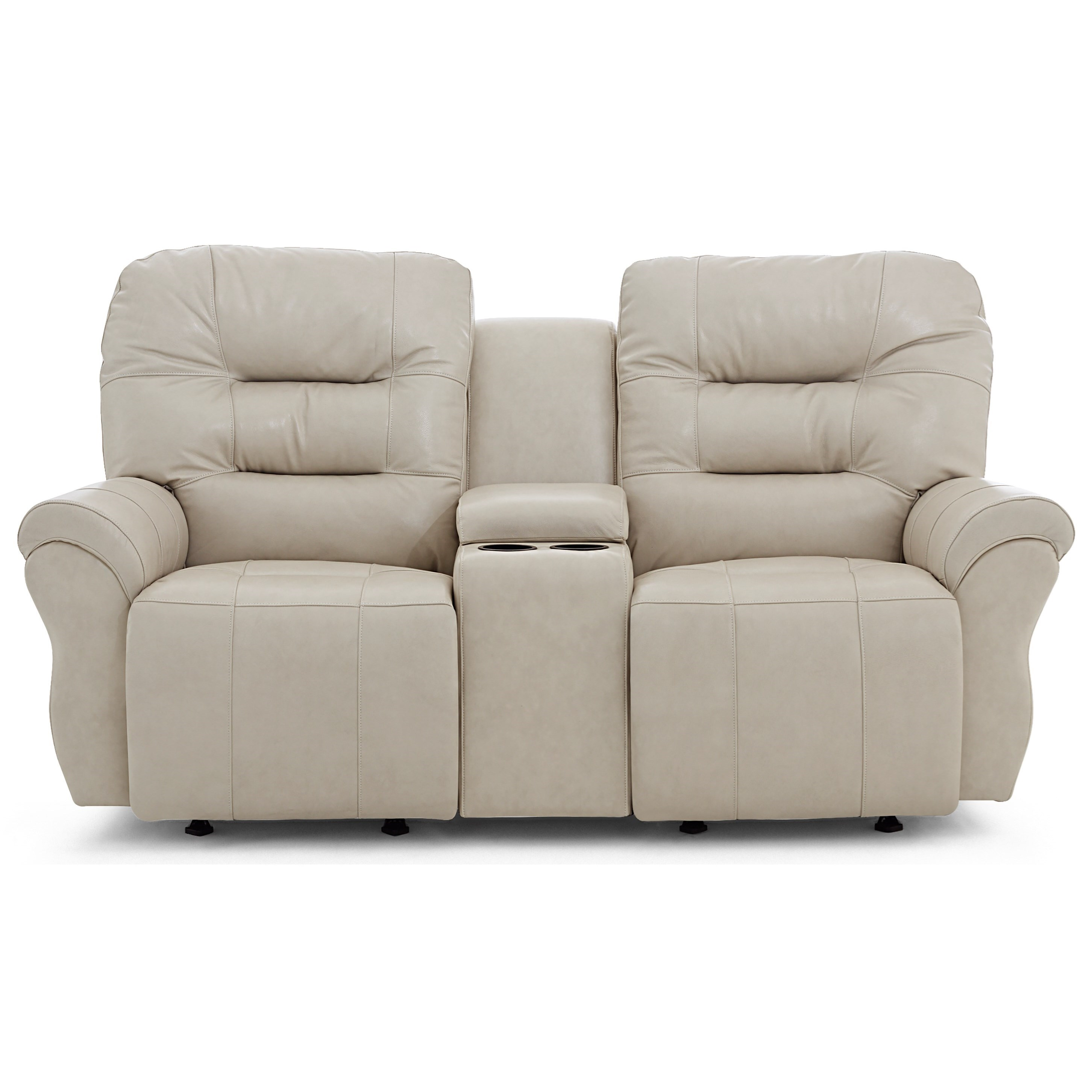 Unity Power Rocker Console Loveseat Chaise by Best Home Furnishings at Baer's Furniture
