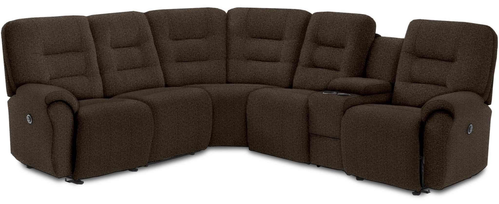 Samba Power Reclining Sectional by Best Home Furnishings at Crowley Furniture & Mattress