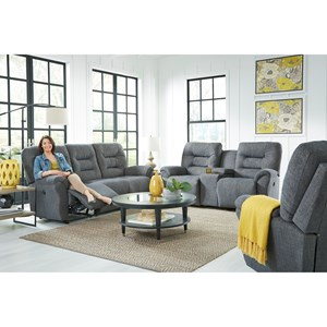 Best Home Furnishings Unity Reclining Living Room Group