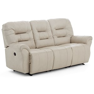 Casual Space Saver Reclining Sofa