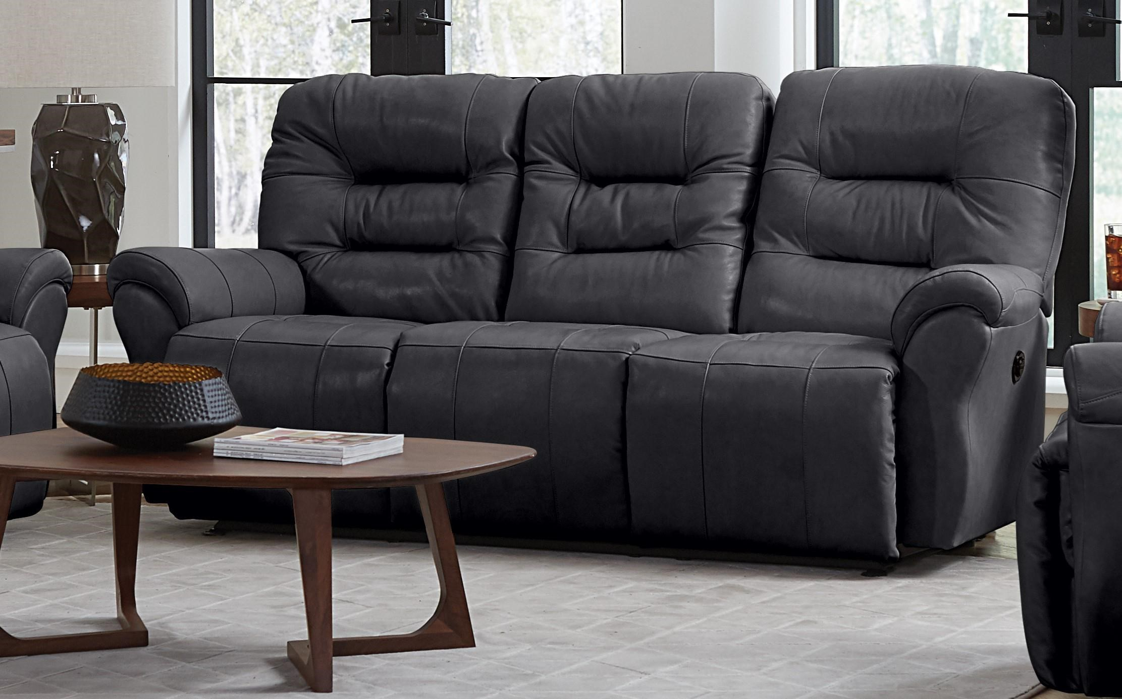 Unity Leather Power Space Saver Sofa Chaise by Best Home Furnishings at Furniture Fair - North Carolina