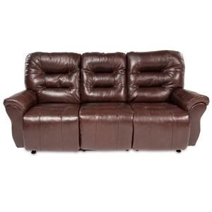 Casual Power Space Saver Reclining Sofa