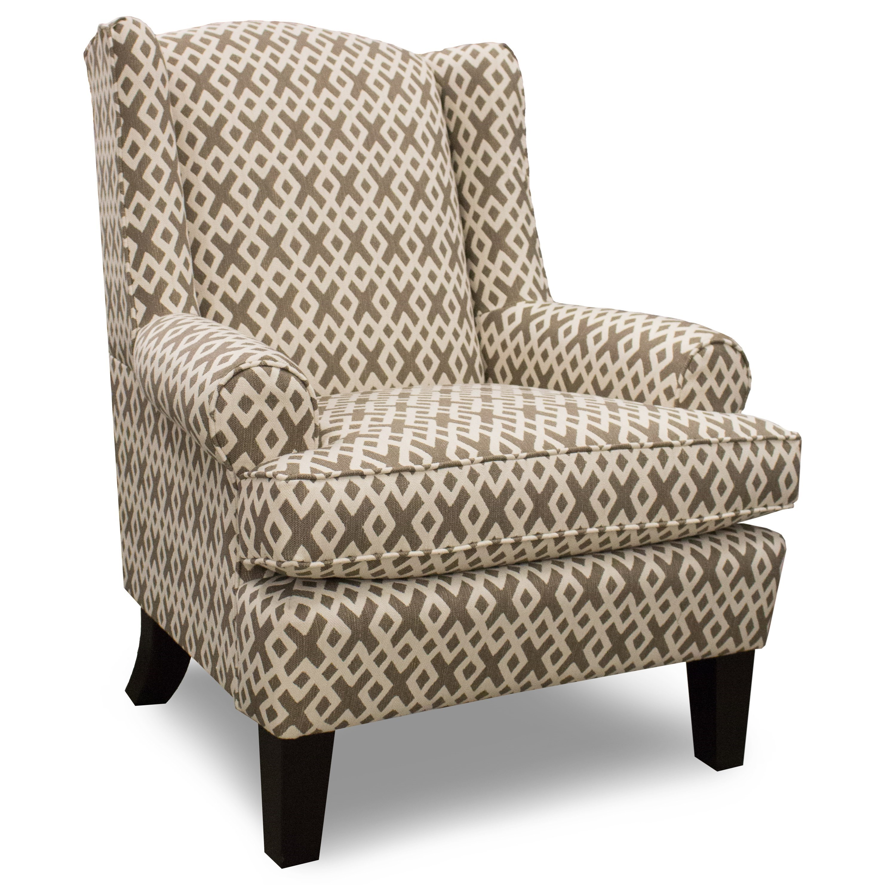 Amelia Wing Back Chair by Best Home Furnishings at Best Home Furnishings