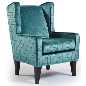 Karla Modern Wing Chair