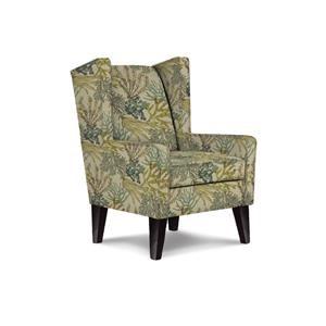 Karla Modern Wing Chair