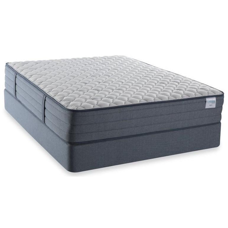 """Madison Firm Queen 13"""" Firm Mattress Set by Better Rest at A1 Furniture & Mattress"""