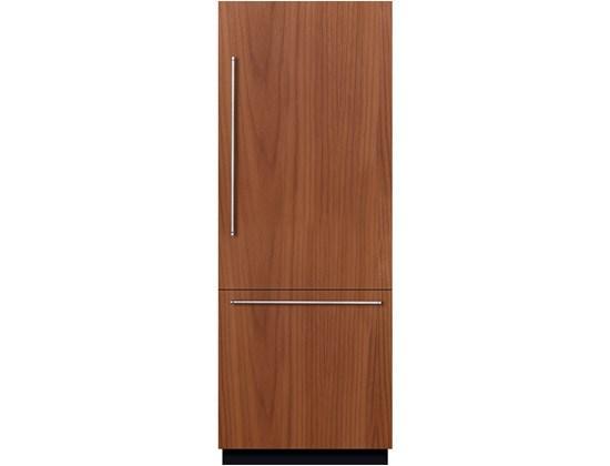 "Bottom-Freezer Refrigerators 30"" Built-In Custom Panel Bottom-Freezer by Bosch at Fisher Home Furnishings"