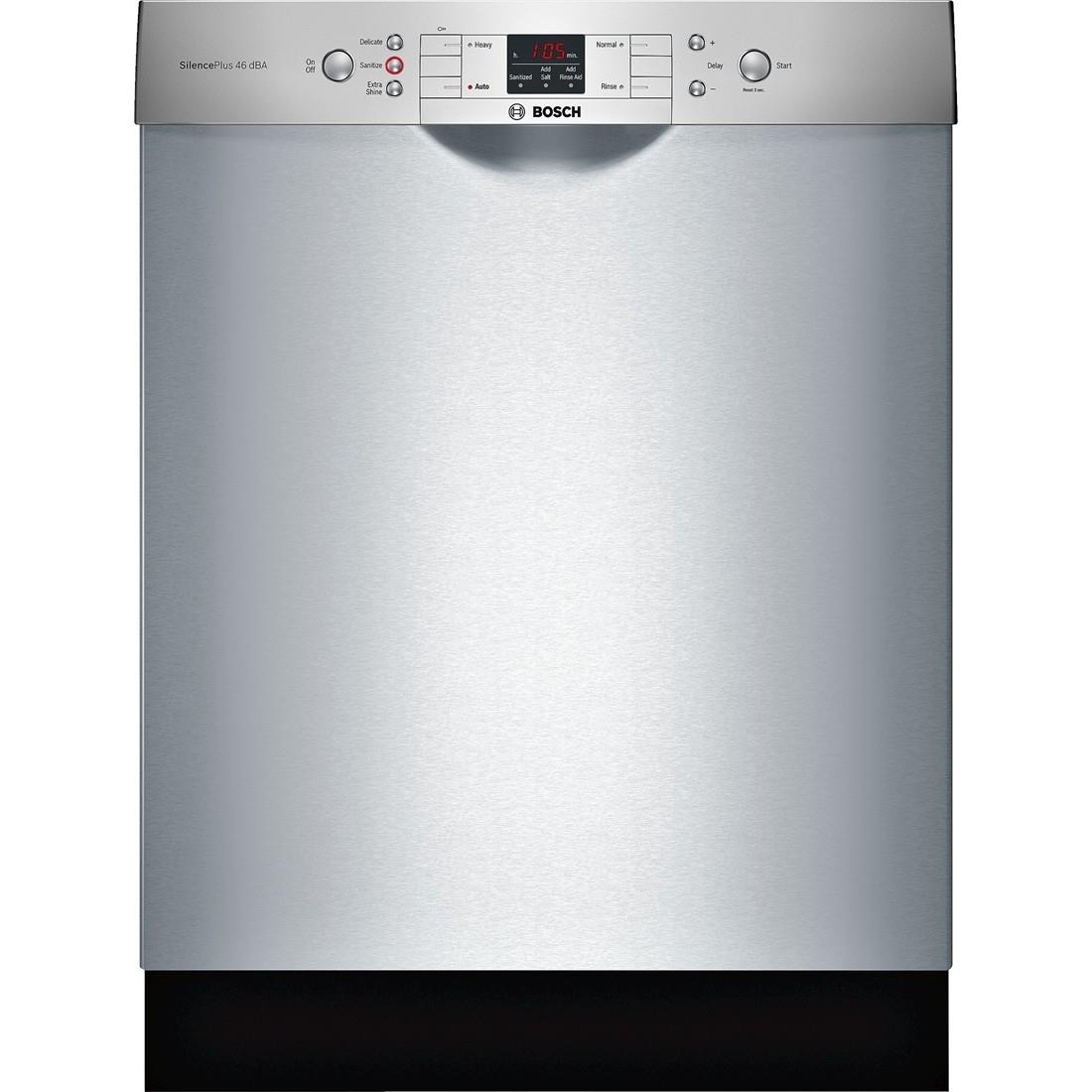 """Dishwashers 24"""" Built-In Dishwasher by Bosch at Fisher Home Furnishings"""