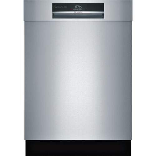"""Dishwashers 24"""" Recessed Handle Dishwasher - Benchmark by Bosch at Fisher Home Furnishings"""