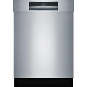 """Bosch Dishwashers 24"""" Recessed Handle Dishwasher - Benchmark"""
